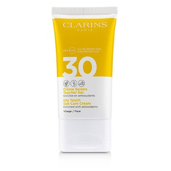 Clarins 面部乾性防曬霜SPF 30 (Dry Touch Sun Care Cream For Face SPF 30)