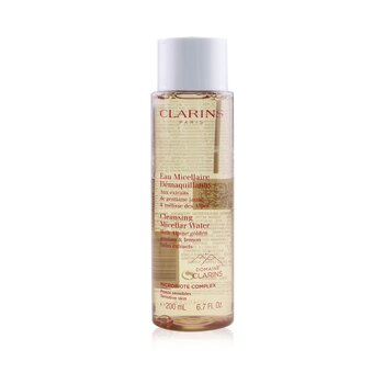 Clarins Cleansing Micellar Water with Alpine Golden Gentian & Lemon Balm Extracts - Sensitive Skin